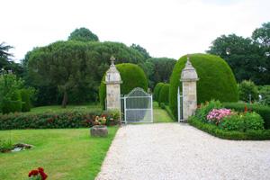 Jardin du prieuré à Réaumur