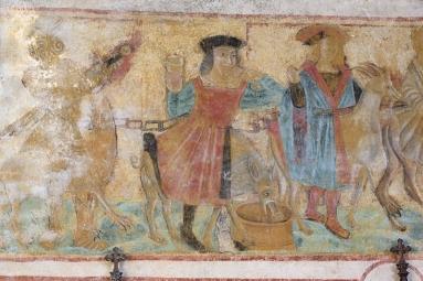 La Pommeraie sur Sèvre:Fresques
