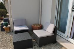 Chambre Côté Jardin - Le salon de jardin